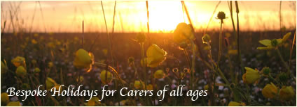 Bespoke Holidays for Carers of all ages