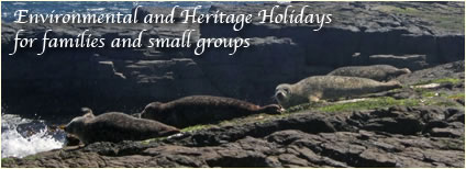 Environmental and Heritage Holidays for families and small groups